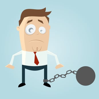 Getting locked into a vendor can become your ball & chain.