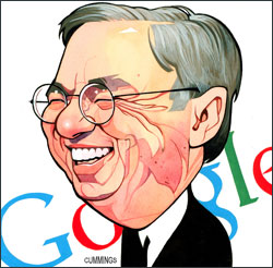 Blame Google's Eric Schmidt for coining the term cloud computing.