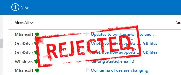Hotmail Blacklist