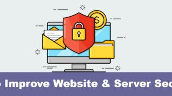 Improve Website & Server Security